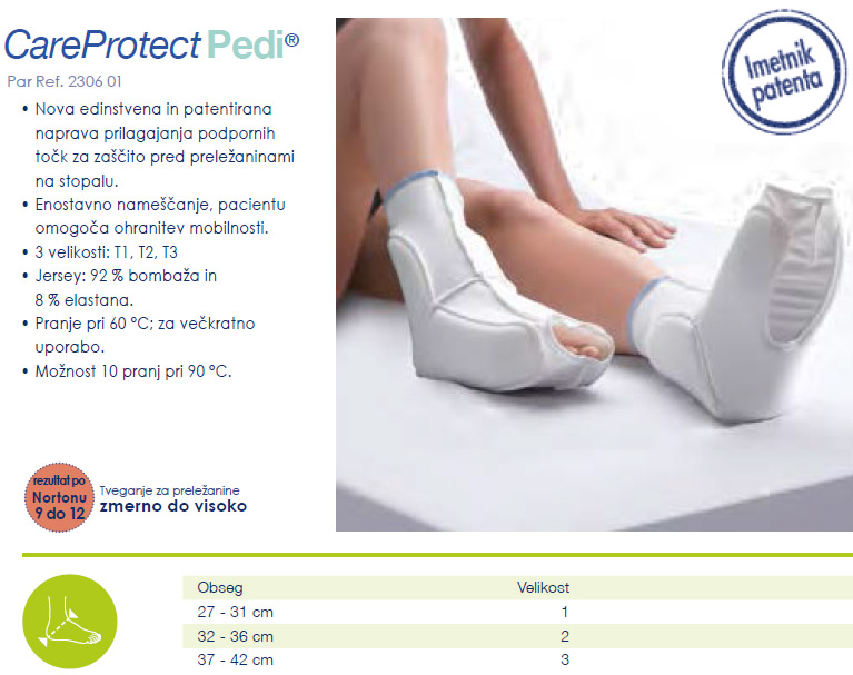 Care protect Pedi