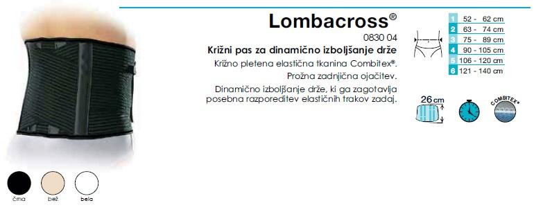 Križni pas Lombacross