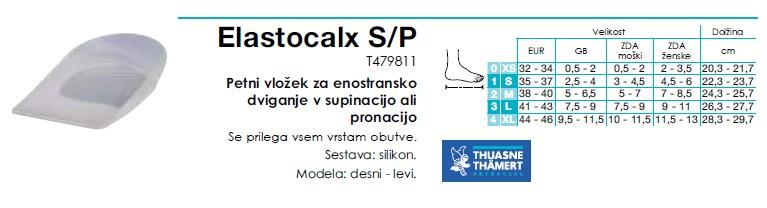 Elastocalx S-P - petni vlozek supinacija - pronacija