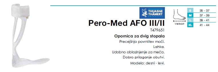 Pero-Med AFO III/II