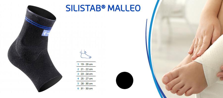 Silistab Malleo opora za gleženj bolecina sport