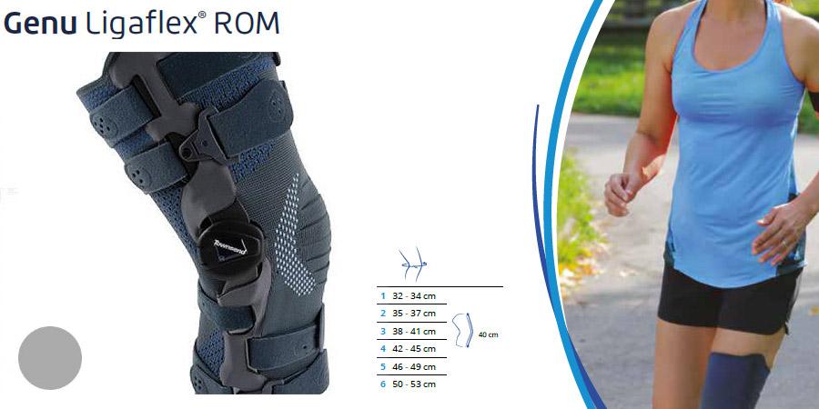 Opornica za koleno genu ligaflex rom 4 točkovna thuasne