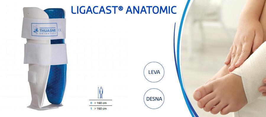 Ligacast Anatomic opornica za gleženj Thuasne