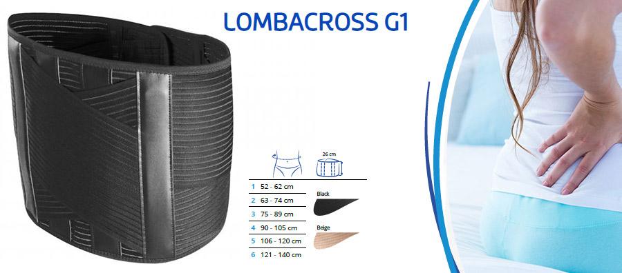 Križni pas Lombacross g1 hrbtenica bolečina