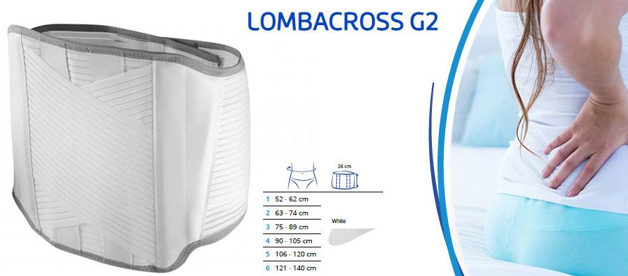 Križni pas Lombacross g2 thuasne hrbtenica križ