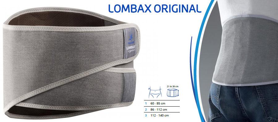 Križni oporni pas lombax original thuasne bolečina hrbet