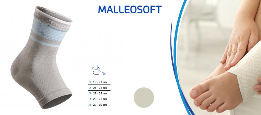 Mallesoft opornica za gleženj zvin bolečina