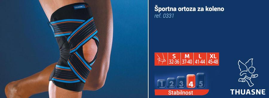 Športna ortoza za koleno thuasne
