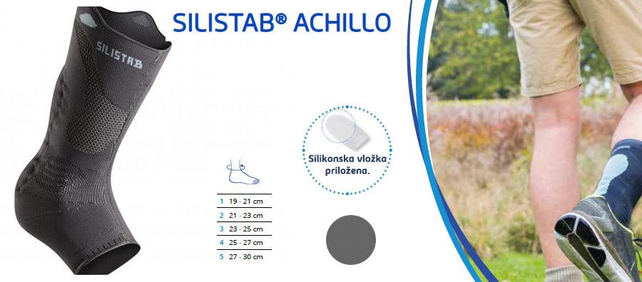 Silistab Achillo opornica mehka za gleženj thuasne bolečina